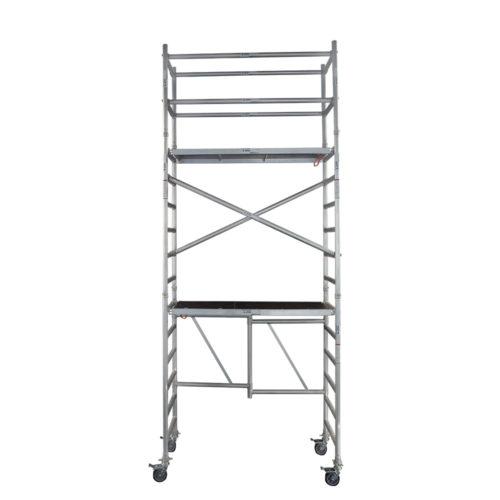 Foldable Aluminium Mobile Narrow Scaffold 1.0m (Platform Height)