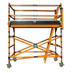 Fibreglass Mobile Scaffold Narrow 2.2m Platform