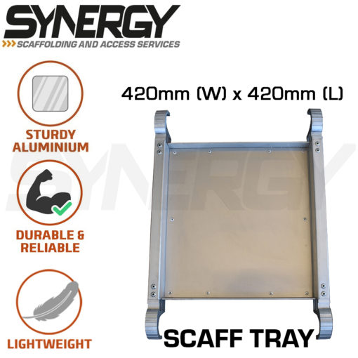 Foldable Aluminium Mobile Narrow Scaffold 1.0m (Platform Height)