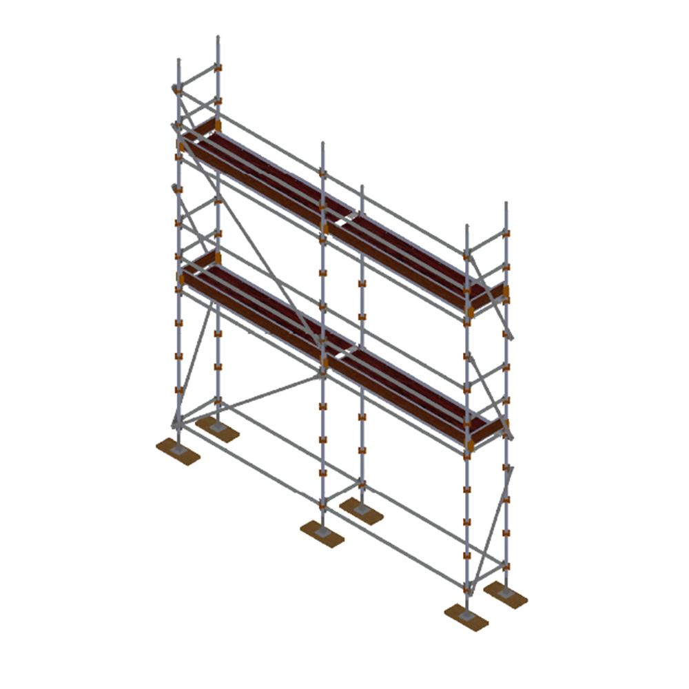 Kwikstart Kit - Aluminium Kwikstage Modular Scaffold System (0.7m (W) x 5.0m (L) x 4.0m(H) Sales & Hire From $220