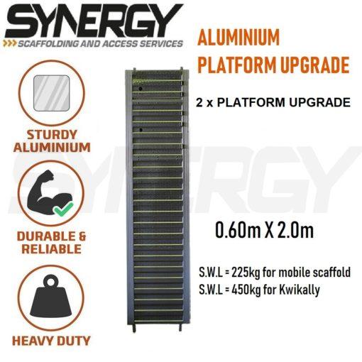 Aluminium Mobile Narrow Scaffold 4.2m - 4.6m (Platform Height)