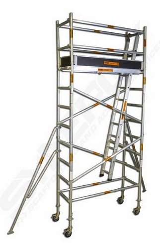 Mobile Scaffolding Product : Aluminium mobile scaffold narrow m platform sales