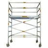 Aluminium Mobile Wide Scaffold 2.6m - 3.0m (Platform Height)