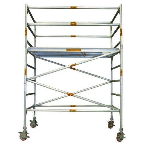Aluminium Mobile Wide Scaffold 1.8m - 2.2m (Platform Height)