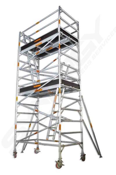 Mobile Scaffolding Product : Aluminium mobile scaffold wide m double platform sales