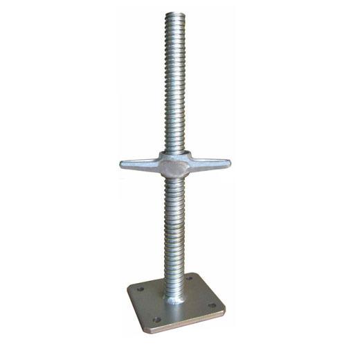 Universal Scaffolding For Jack : Steel base jacks synergy scaffolding access equipment