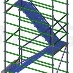 Aluminium Kwikally Riser Stair Access