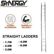 4m Aluminium Ladder