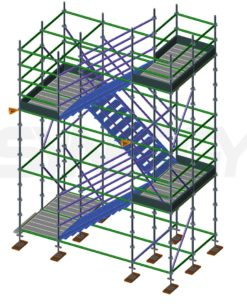 Kwikally 2.0M Stretcher Stair Access Loop Assembly - 6.0M