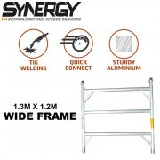 THREE RUNG FRAME WIDE