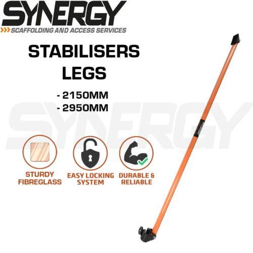 Fibreglass Stabiliser Leg