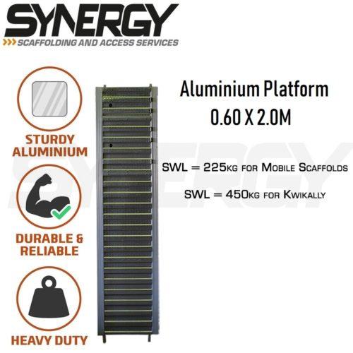 KA 2.5m Aluminium Platform