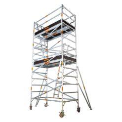 Aluminium Mobile Wide Scaffold 6.2m - 6.6m (Platform Height)