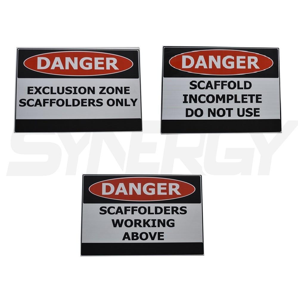Scaffolding Danger Signs
