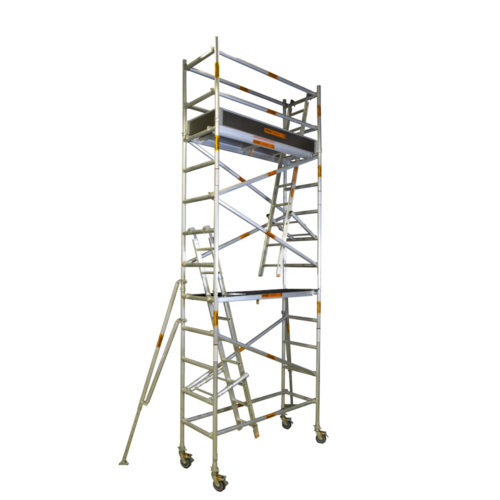 Aluminium Mobile Narrow Scaffold 5.0m - 5.4m (Platform Height)