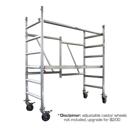 Foldable Aluminium Mobile Scaffold 1.0m (Platform Height)