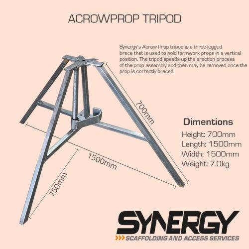 Acrowprop Tripod