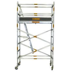 Aluminium Mobile Wide Scaffold 3.0m - 3.4m (Platform Height)