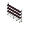 Aluminium Kwikally Modular Scaffold System 10m (Scaffold Length) PARENT