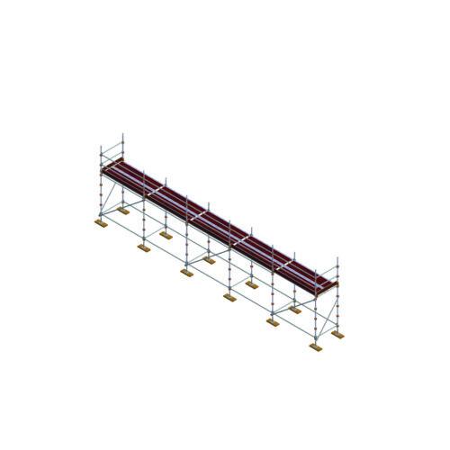 Aluminium Kwikally Modular Scaffold System 12.5m (Scaffold Length)  PARENT