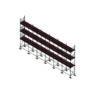 Aluminium Kwikally Modular Scaffold System 15m (Scaffold Length) PARENT