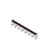 Aluminium Kwikally Modular Scaffold System 17.5m (Scaffold Length) PARENT
