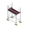 Aluminium Kwikally Modular Scaffold System 5m (Scaffold Length) x 2m (Height)