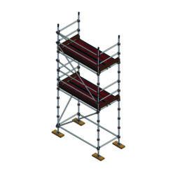 Aluminium Kwikally Modular Scaffold System 2.5m (Scaffold Length) x 4m (Height)