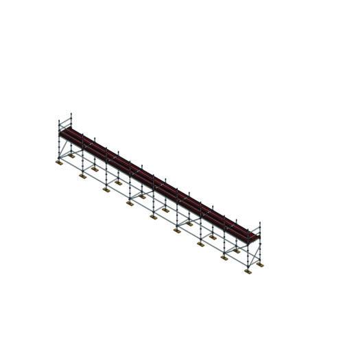 Aluminium Kwikally Modular Scaffold System 20m (Scaffold Length) PARENT