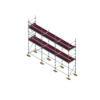 Aluminium Kwikally Modular Scaffold System 7.5m (Scaffold Length) PARENT