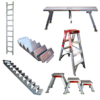Fibreglass Mobile Scaffold Wide 2.2m Platform