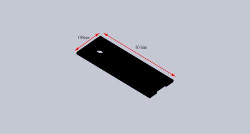 SP-NPHO-DOOR2 BZ11000956L NPHO TIMBER DOOR SIZE(198X464mm)
