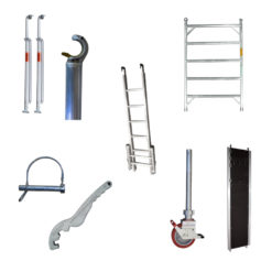 Mobile Foldable Scaffold Accessories