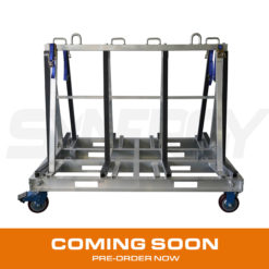 Double Sided Aluminium A Frame Trolley