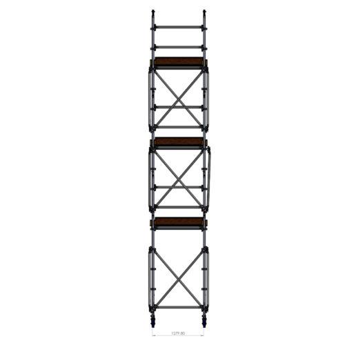Kwikally Mobile 1.3m x 1.3m x 6m(Height)